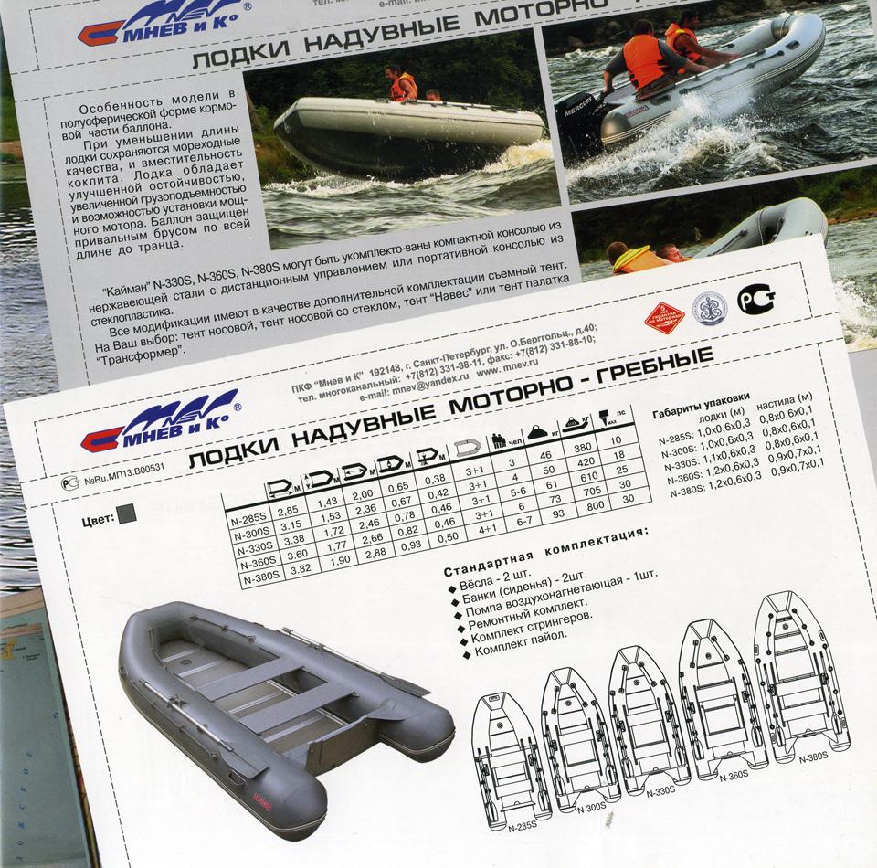 Инструкция для резиновой лодки