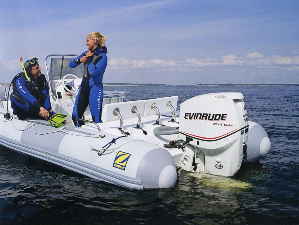 лодочные моторы евинруда