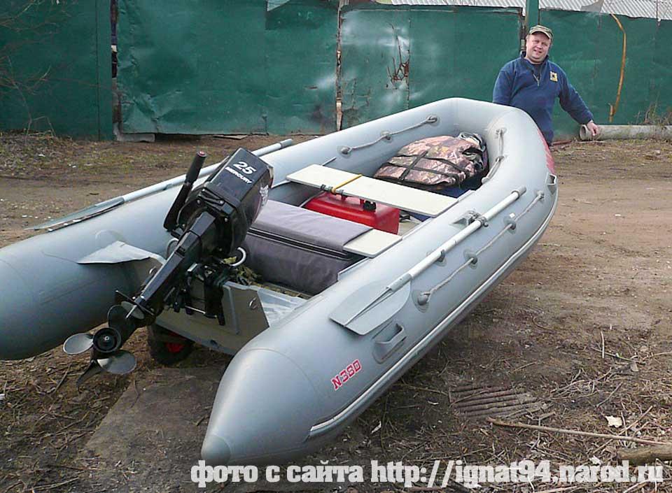 сборка моторной лодки из пвх