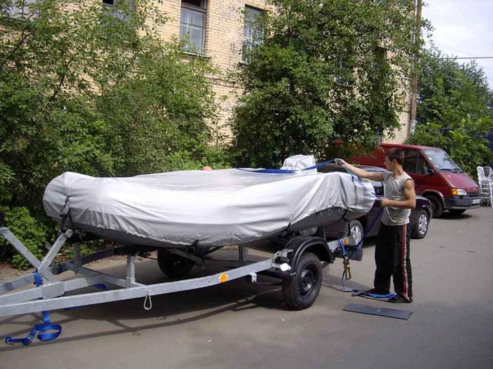Чехол для перевозки на прицепе лодки пвх своими руками