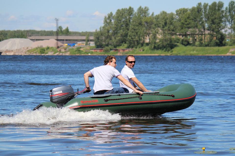 лодка raffer cat fish-270
