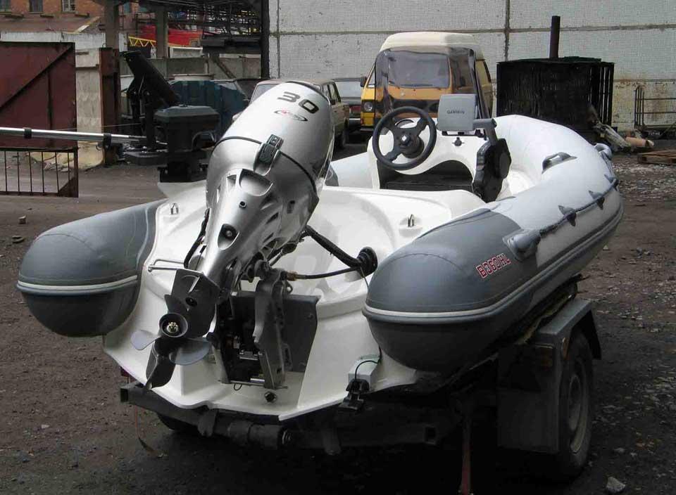 Как подобрать лодочный мотор к лодке ПВХ