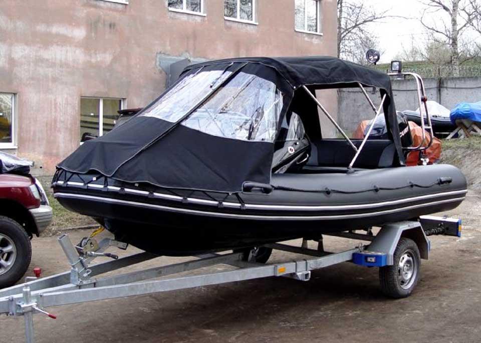 тент для лодок бриг