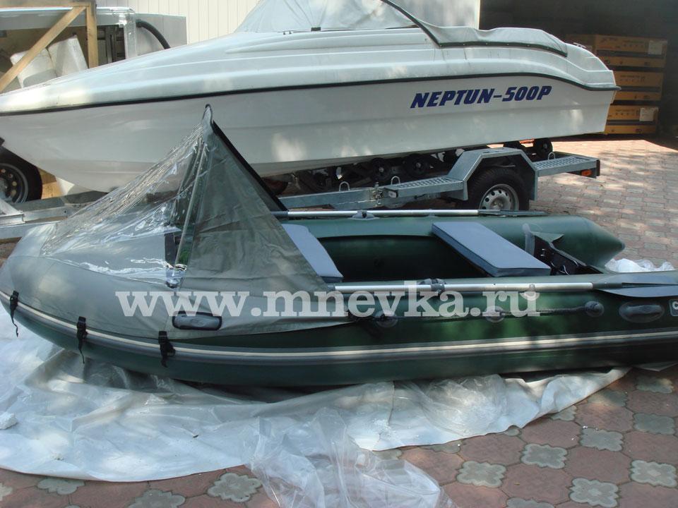 тент для лодки мнев 380