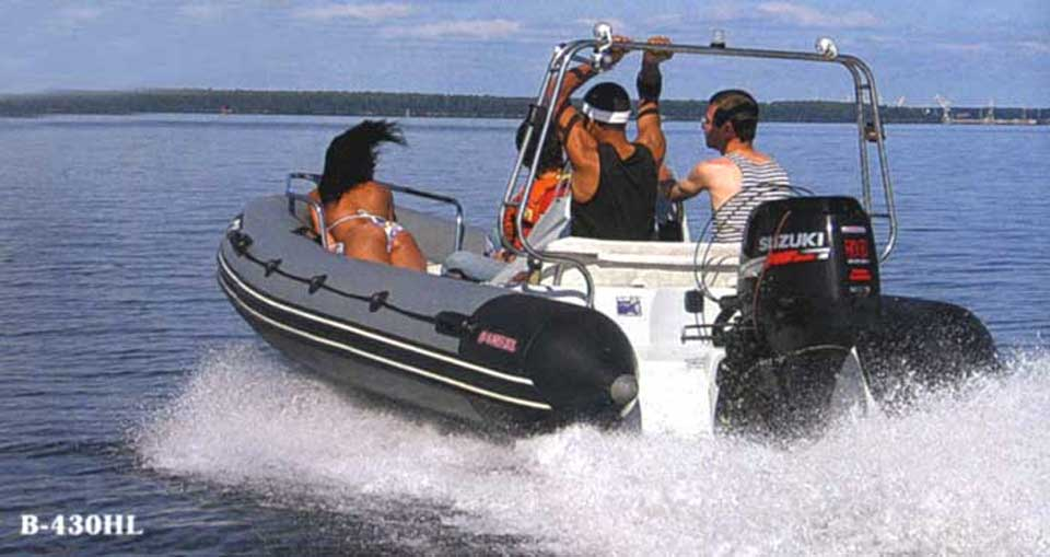 дуга на лодку риб