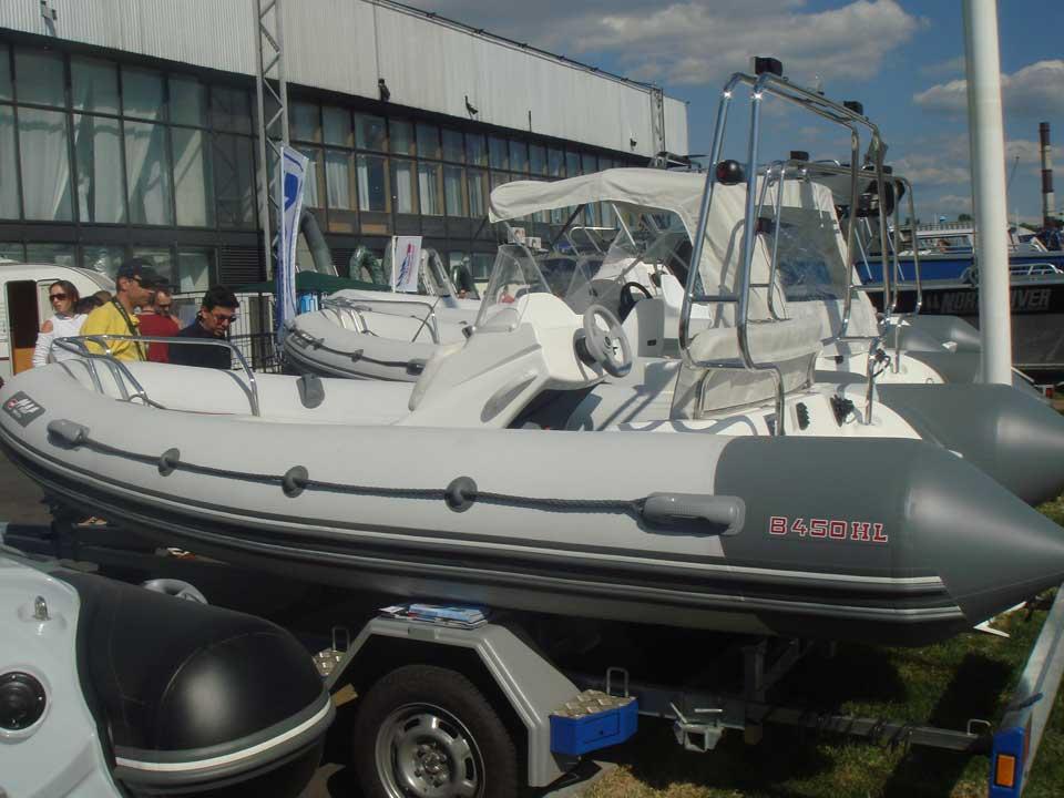 Тест драйв лодок риб видео