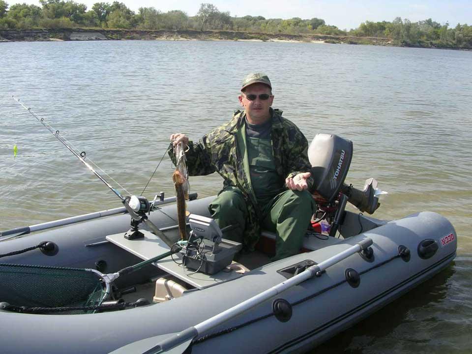тюнинг лодок кайман 330