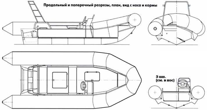 лодки пвх устройство