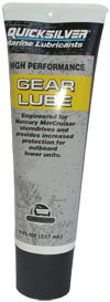 Quicksilver High Performance Gear Lube 296 мл