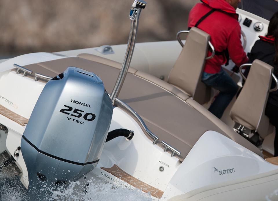 цена лодочного мотора хонда 250