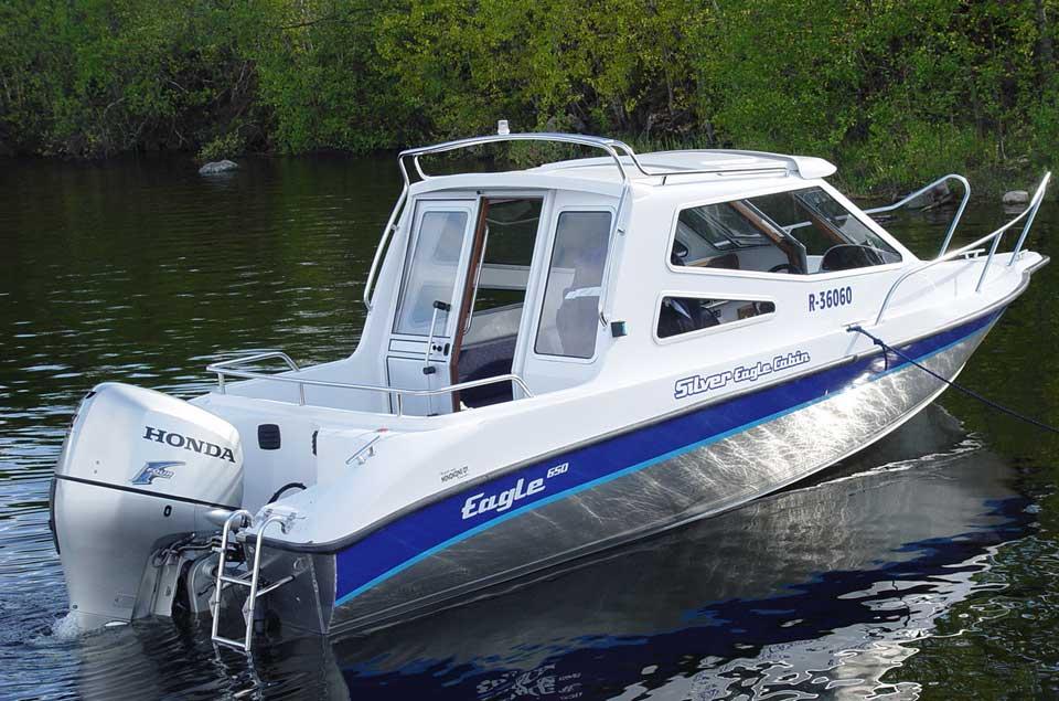 лодки сильвер кабин