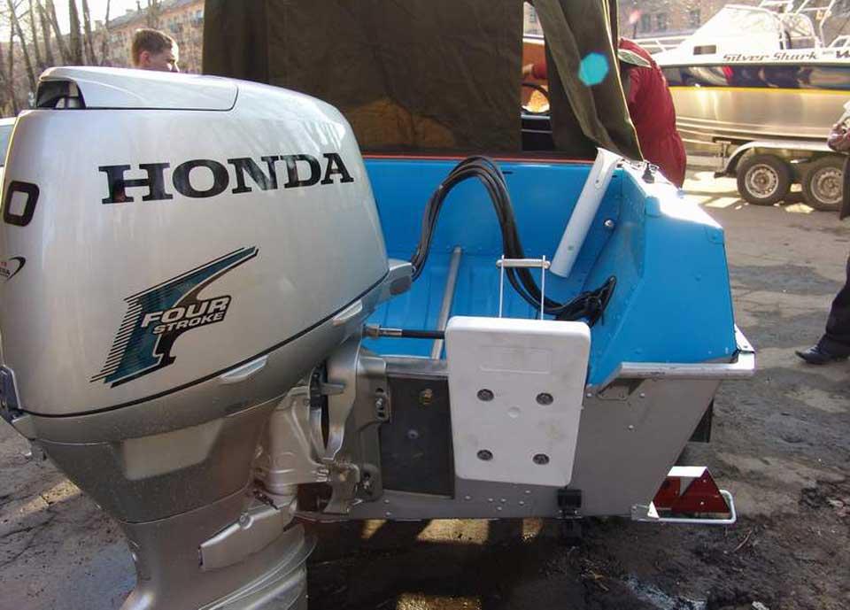 расход лодочного мотора хонда 50