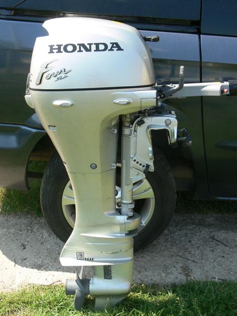 лодочный мотор хонда из европы