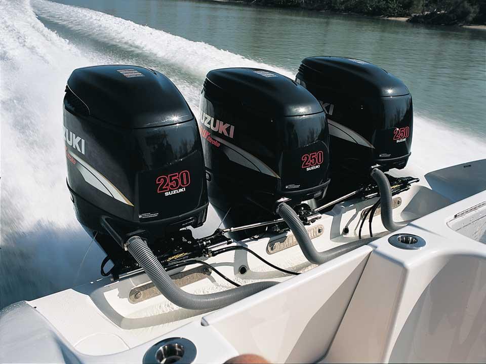 Suzuki лодочные моторы, от л.с.