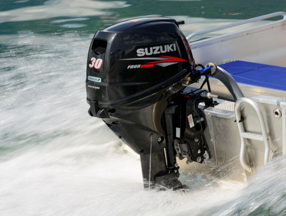 моторы suzuki для лодок в москве