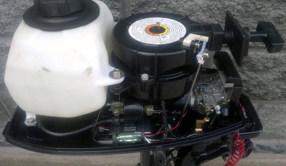 Запчасти для лодочного мотора tohatsu 5