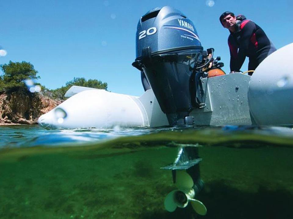 моторы на надувные лодки цены по акции ямаха