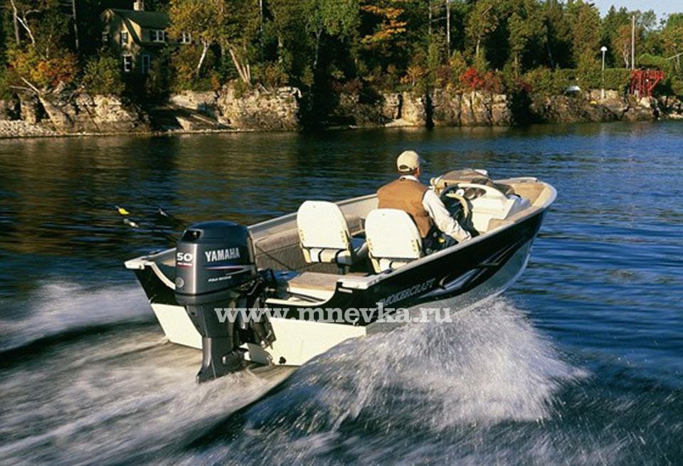 мотор лодочный yamaha f50fetl