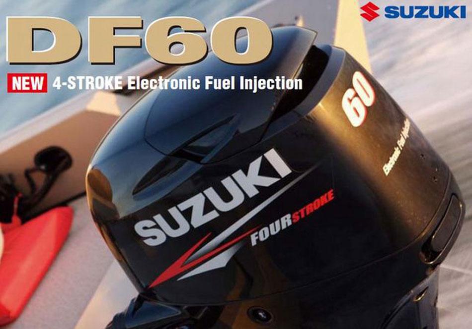 мотор лодочный suzuki df60atl купить бу
