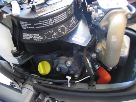 лодочный мотор ямаха 5смн