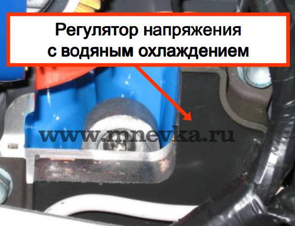 Лодочный мотор Honda BF60 имеет генератор на 22А.