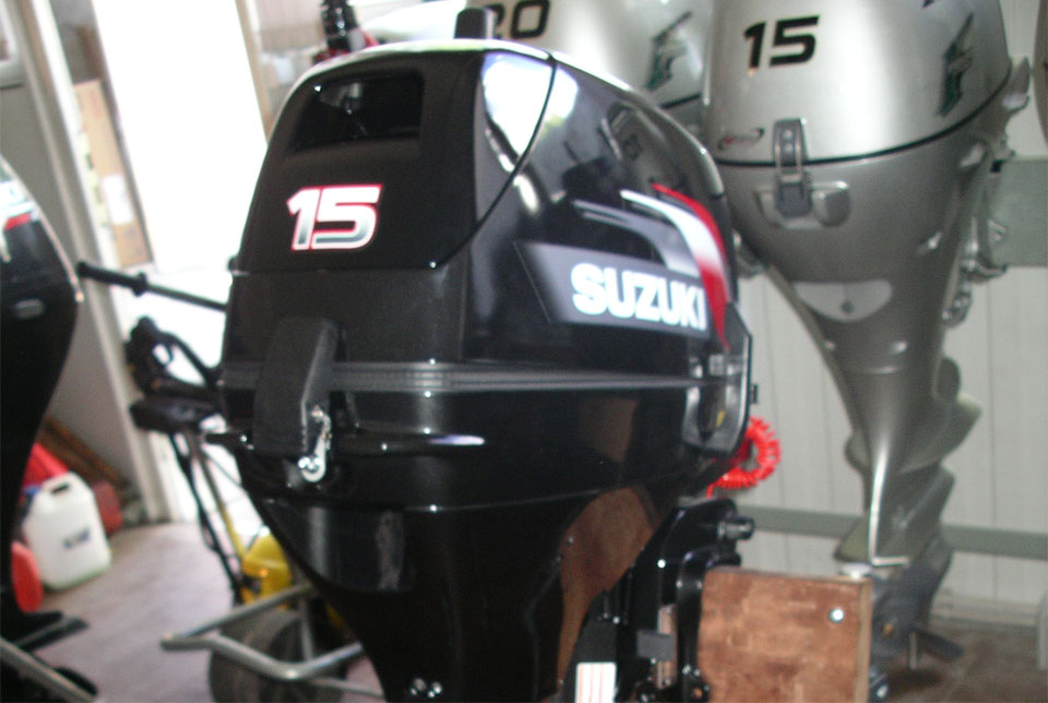 лодочный мотор сузуки dt15s цена