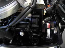 замена термостата на лодочном моторе