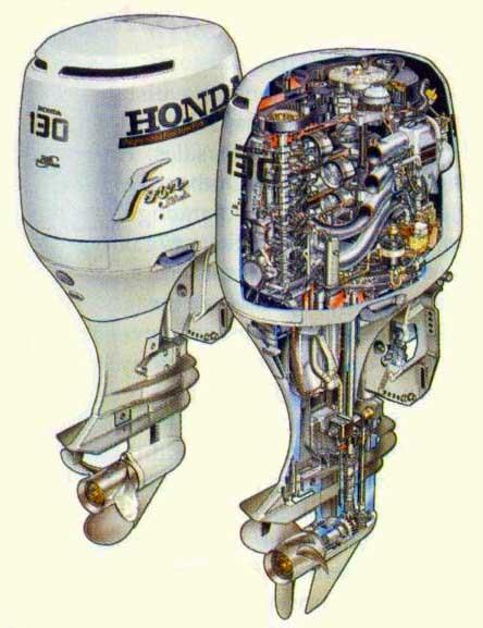 honda 130 outboard oil