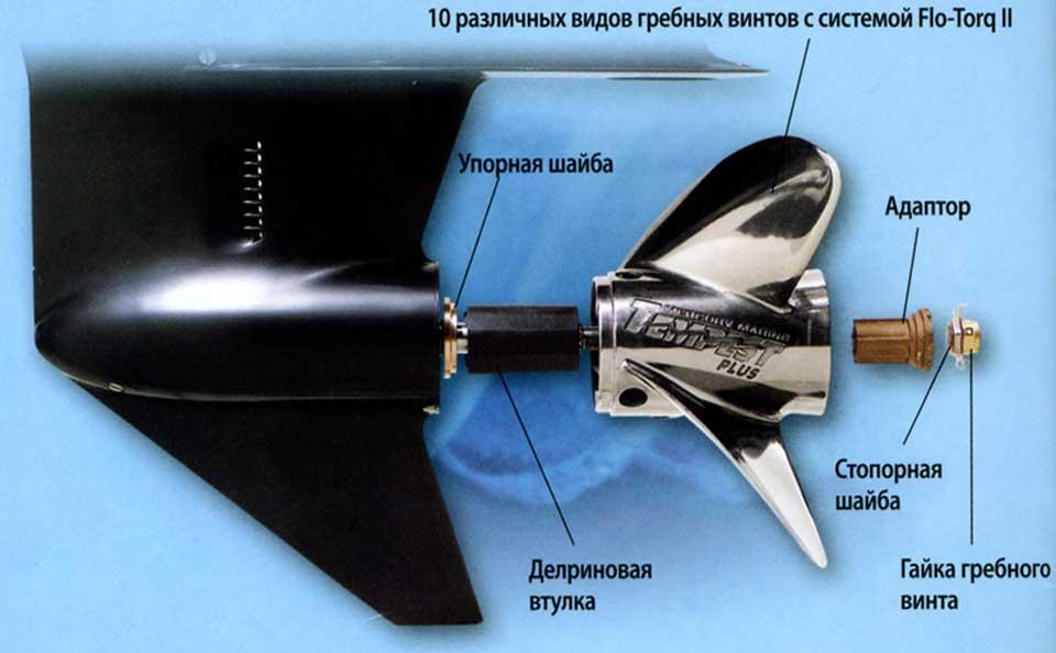 какой винт лодочного мотора меркури