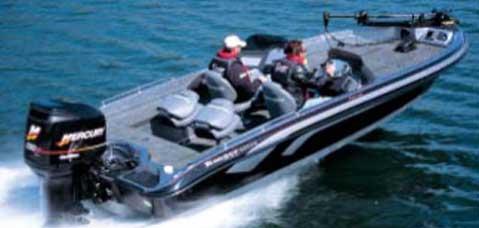 тест больших лодочных моторов