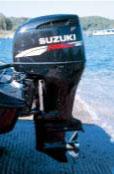 тест лодочного мотора Suzuki DF 250