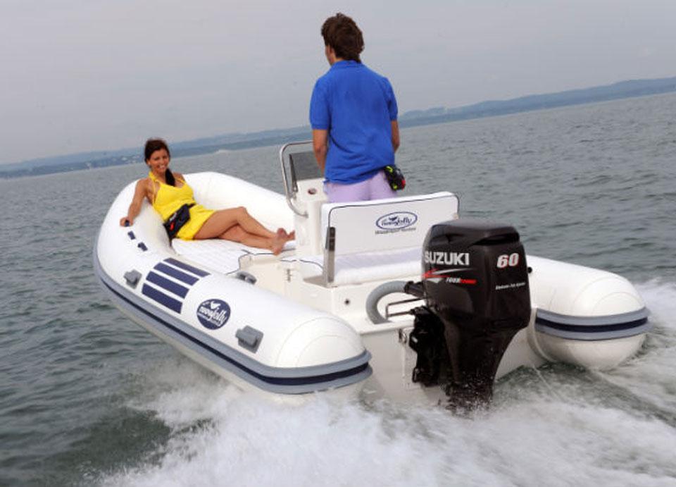 тест электродвигателей для лодок