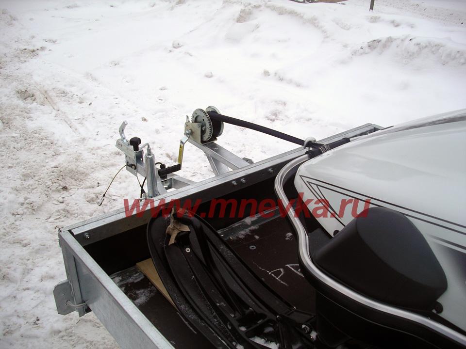 лодки на прицепе для снегохода