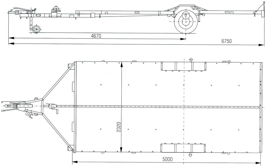 Автоприцеп для лодки чертежи